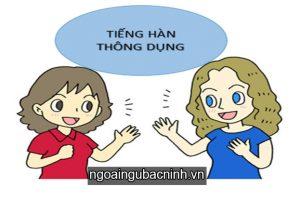 Những câu tiếng Hàn thông dụng trong giao tiếp hàng ngày