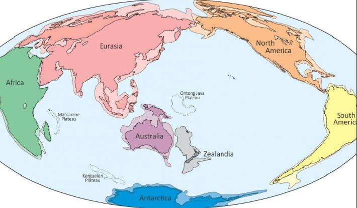 Tên các châu lục và đại dương bằng tiếng Anh