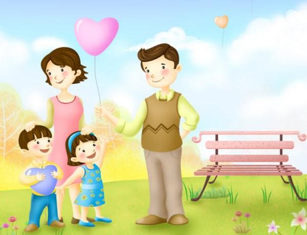 Cách xưng hô trong gia đình bằng tiếng Trung
