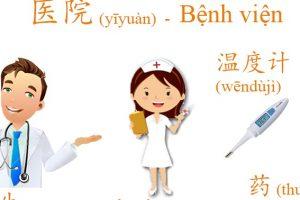 Học tiếng Trung về y tế và bệnh viện